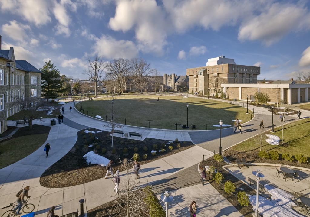 West Chester University Quad Redesign