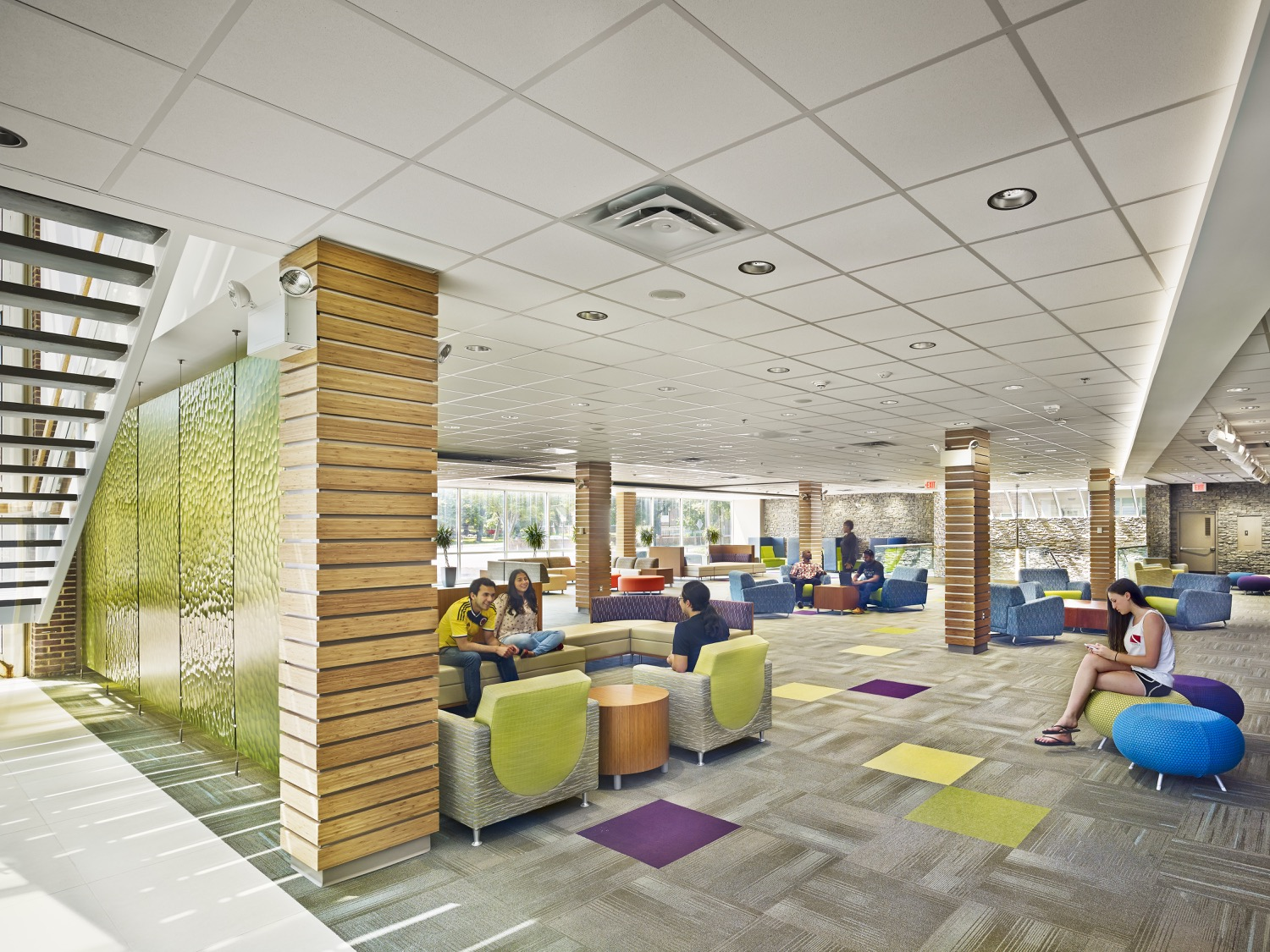 Bernardon university of delaware perkins student center - University of maryland interior design ...
