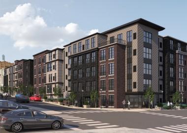 Shovels hit dirt for Allentown's $13M apartment project