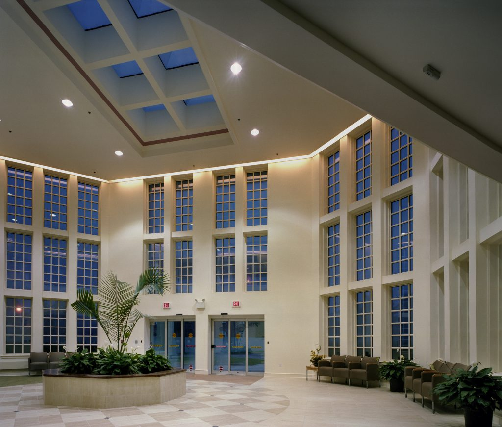 Neuro II Lobby Front view cropped