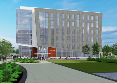 Construction Begins on FinTech building on UD's STAR Campus