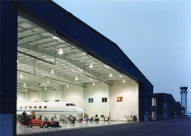Hangars 9 & 10 at the New Castle Airport