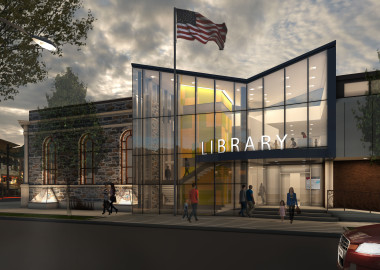 Haverford Township Free Library Perspective