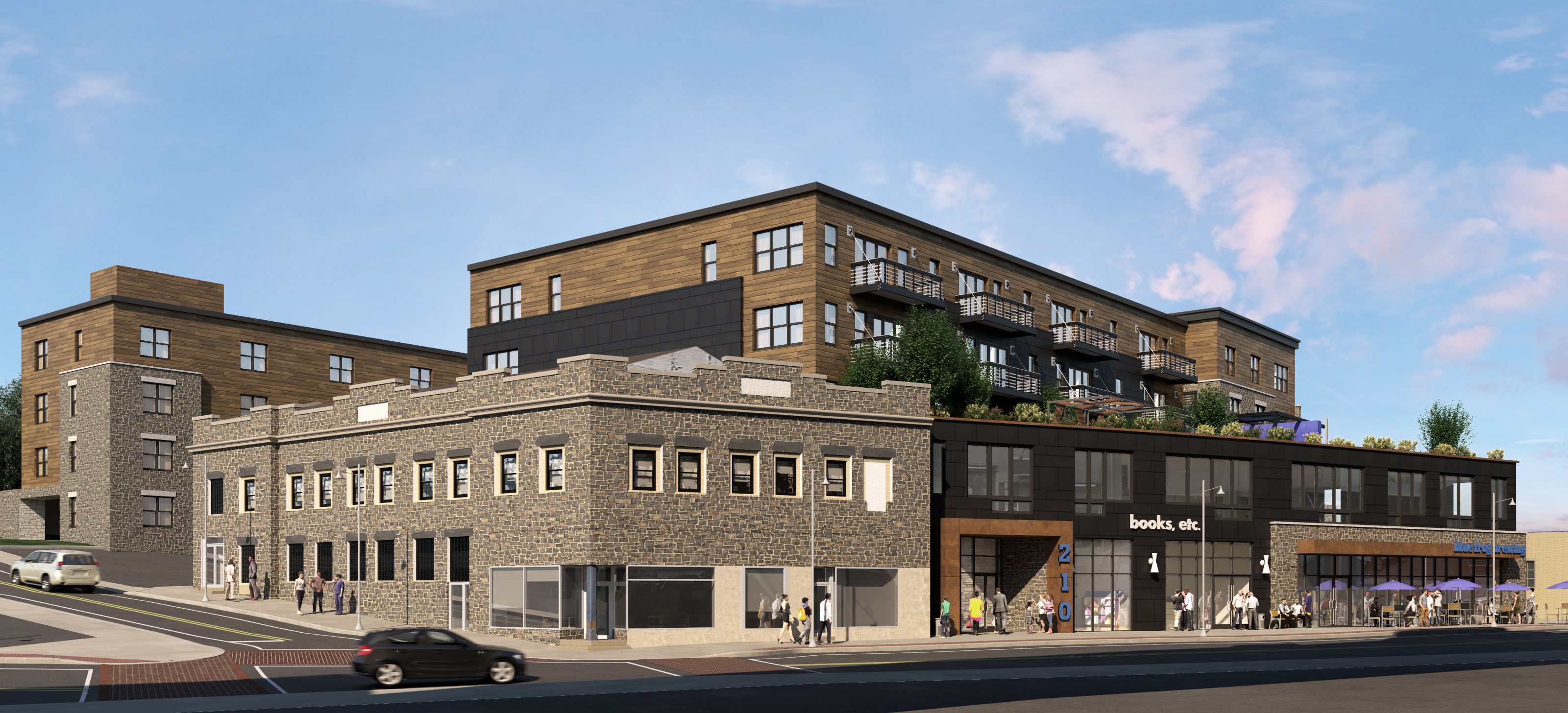 Bernardon New Mixed Use Building Proposed For Bala Cynwyd