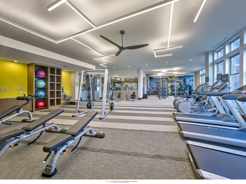 ParkSquare Fitness Room