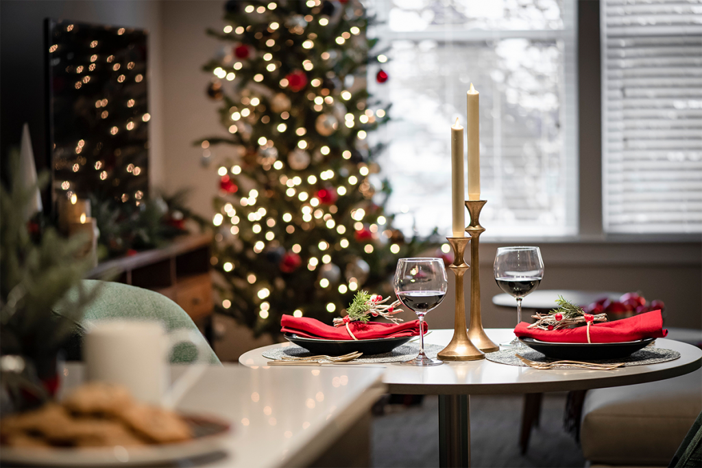 Bernardon Transforms AVE King of Prussia into a Holiday Haven