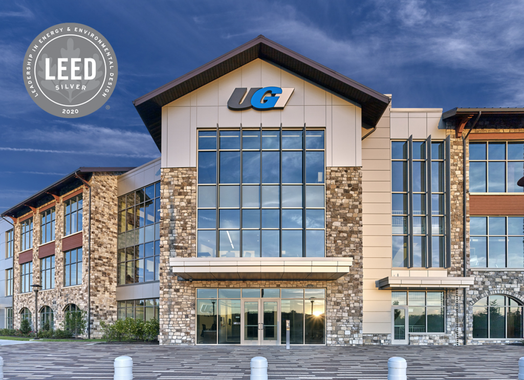 UGI 17 with LEED Silver Logo